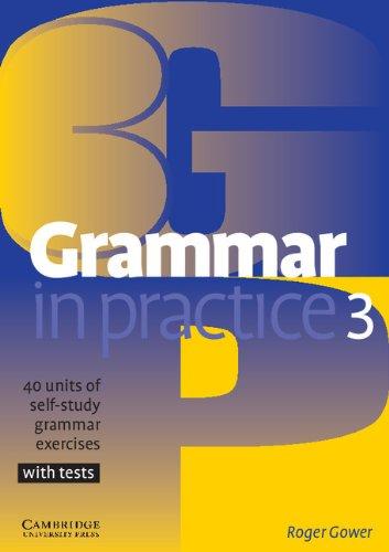 9780521540414: Grammar in Practice 3