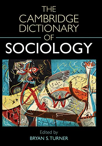 9780521540469: The Cambridge Dictionary of Sociology
