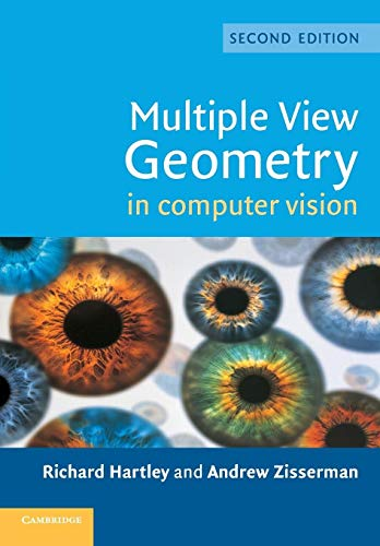 9780521540513: Multiple View Geometry in Computer Vision 2nd Edition Paperback