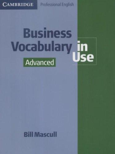 9780521540704: Business Vocabulary in Use Advanced (Cambridge Professional English)