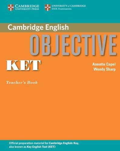 9780521541503: Objective KET Teacher's Book
