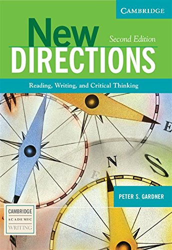 9780521541725: New Directions: Reading, Writing, and Critical Thinking (Cambridge Academic Writing Collection)