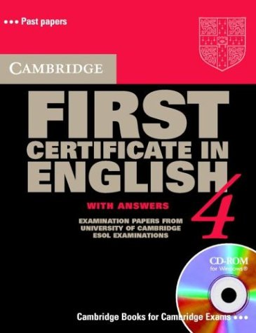 9780521541763: Cambridge First Certificate in English CD-ROM Pack