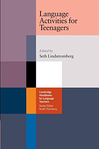 9780521541930: Language Activities for Teenagers Paperback (Cambridge Handbooks for Language Teachers)