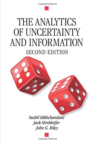 9780521541961: The Analytics of Uncertainty and Information