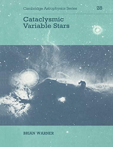 9780521542098: Cataclysmic Variable Stars (Cambridge Astrophysics)