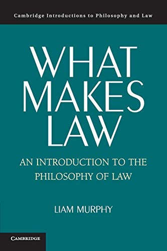 9780521542197: What Makes Law: An Introduction to the Philosophy of Law (Cambridge Introductions to Philosophy and Law)