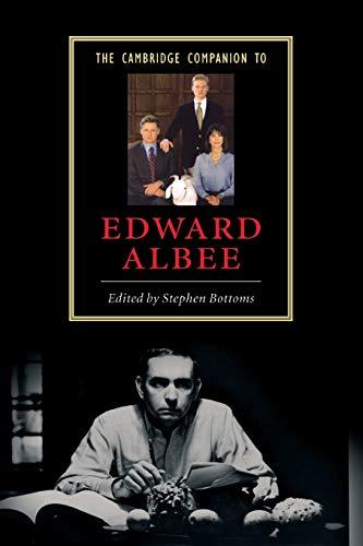 9780521542333: The Cambridge Companion to Edward Albee (Cambridge Companions to Literature)