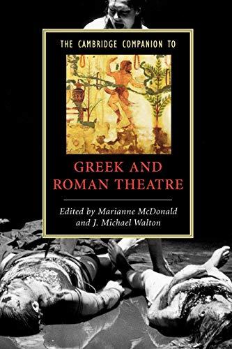 9780521542340: The Cambridge Companion to Greek and Roman Theatre Paperback (Cambridge Companions to Literature)