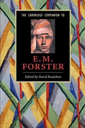 9780521542524: The Cambridge Companion to E. M. Forster (Cambridge Companions to Literature)