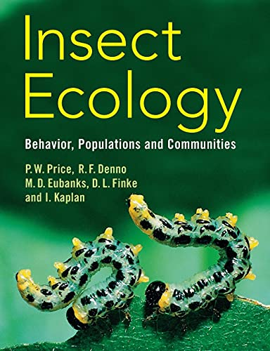 9780521542609: Insect Ecology: Behavior, Populations and Communities
