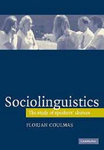 9780521543071: Sociolinguistics (Cambridge Textbooks in Linguistics)
