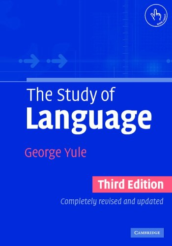 9780521543200: The Study of Language