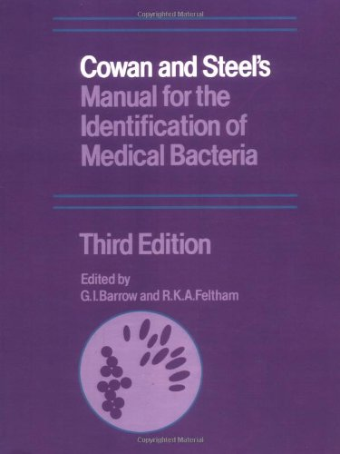 9780521543286: Cowan and Steel's Manual for the Identification of Medical Bacteria