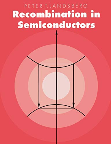 9780521543439: Recombination in Semiconductors