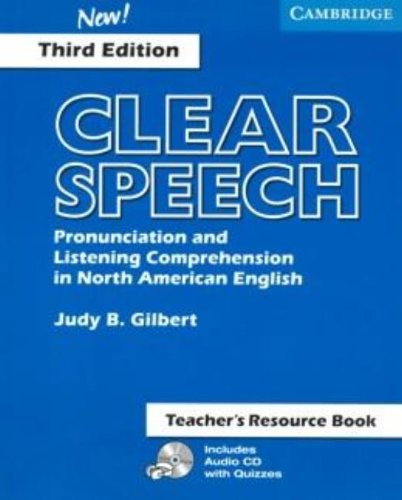 9780521543552: Clear Speech Teacher's Resource Book: Pronunciation and Listening Comprehension in American English
