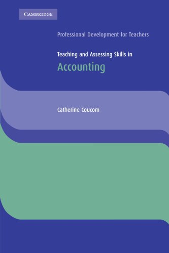 9780521543675: Teaching and Assessing Skills in Accounting (Cambridge International Examinations)