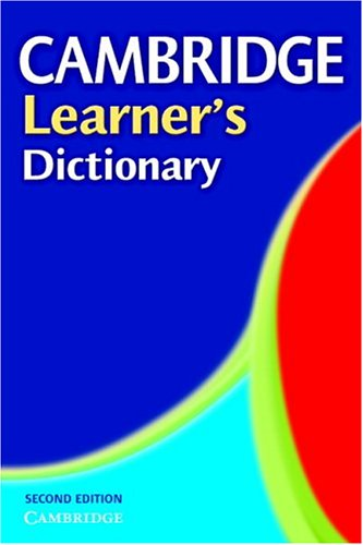 9780521543804: Cambridge Learner's Dictionary