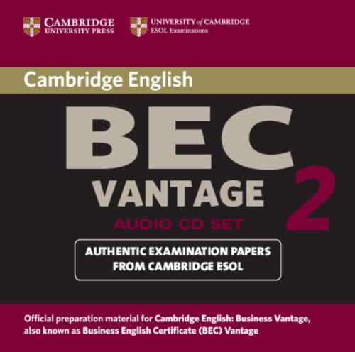 9780521544566: Cambridge BEC Vantage 2 Audio CD: Examination Papers from University of Cambridge ESOL Examinations: Level 2 (BEC Practice Tests)