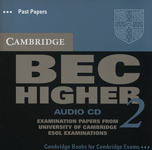 9780521544603: Cambridge BEC Higher 2 Audio CD: Examination papers from University of Cambridge ESOL Examinations
