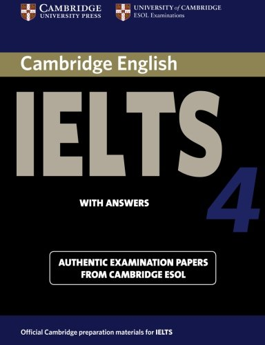 9780521544627: Cambridge IELTS 4 Student's Book with Answers: Examination papers from University of Cambridge ESOL Examinations
