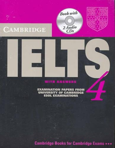9780521544634: Cambridge IELTS 4 Self Study Pack: Examination Papers from University of Cambridge ESOL Examinations (IELTS Practice Tests)