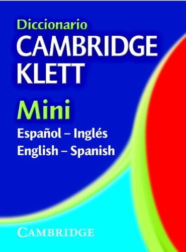 9780521544771: Diccionario Cambridge Klett Mini Español-Inglés/English-Spanish