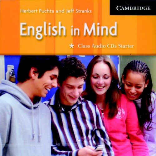 9780521545037: English in Mind Starter Class Audio CDs