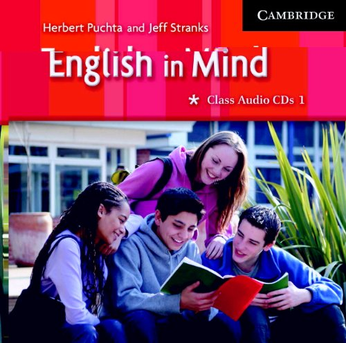 9780521545044: English in Mind 1 Class Audio CDs