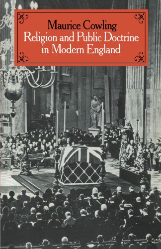 9780521545167: Religion and Public Doctrine in Modern England (Cambridge Studies in the History and Theory of Politics)