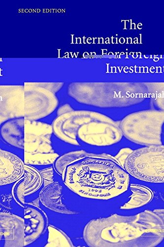 9780521545563: The International Law on Foreign Investment