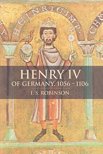 9780521545907: Henry IV of Germany 1056-1106