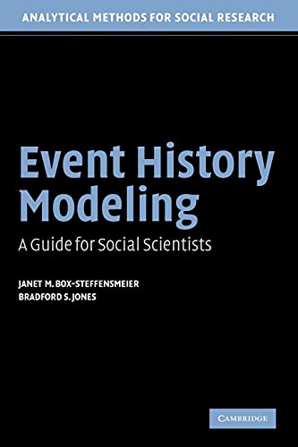 9780521546737: Event History Modeling: A Guide for Social Scientists (Analytical Methods for Social Research)
