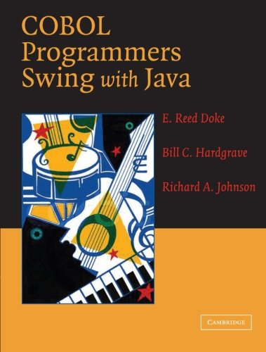9780521546843: COBOL Programmers Swing with Java