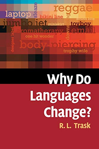 9780521546935: Why Do Languages Change? Paperback