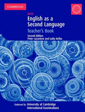 9780521546959: IGCSE English as a Second Language Teacher's Book (Cambridge International IGCSE)