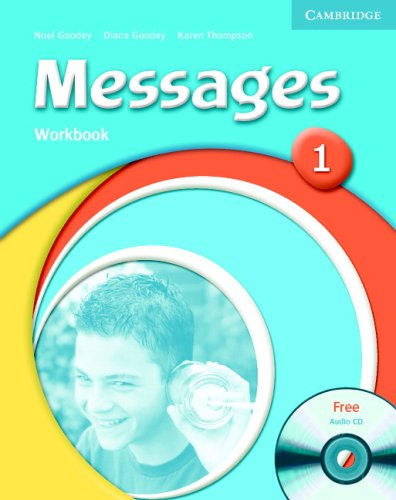 9780521547086: Messages 1 Workbook with Audio CD