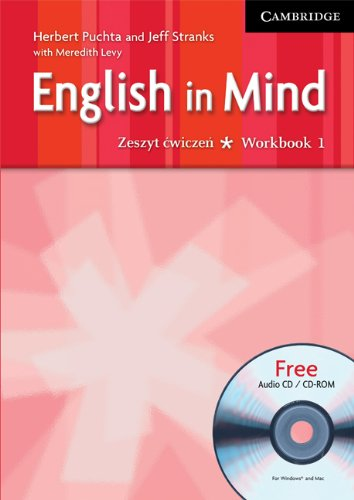 9780521547208: English in Mind 1 Workbook with CD-ROM/Audio CD Polish edition: Level 1
