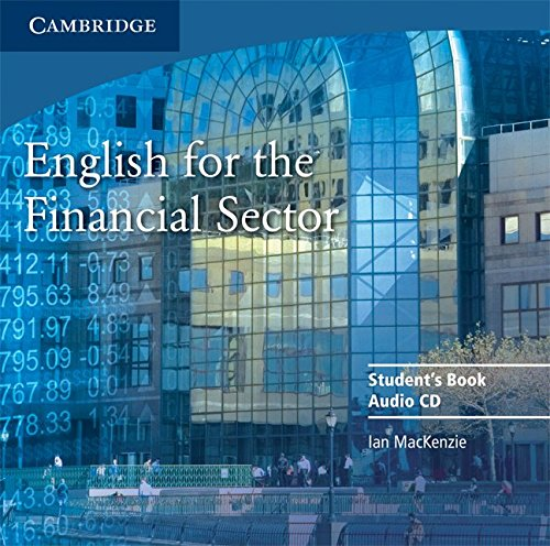 9780521547284: English for the Financial Sector Audio CD