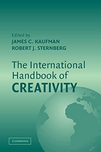 9780521547314: The International Handbook of Creativity