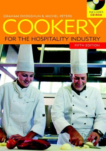 9780521547581: Cookery for the Hospitality Industry with CD-ROM