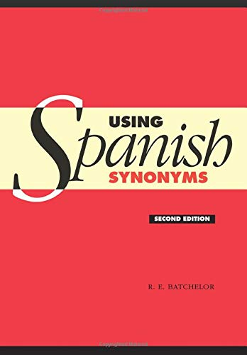 9780521547604: Using Spanish Synonyms 2nd Edition Paperback