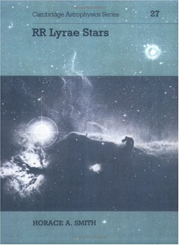 9780521548175: RR Lyrae Stars (Cambridge Astrophysics)