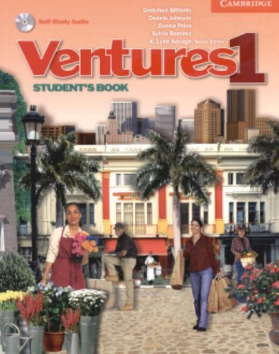 9780521548380: Ventures 1 Student's Book with Audio CD (No. 1)