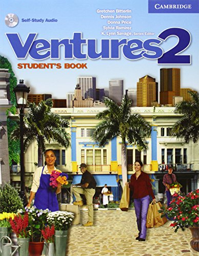 9780521548397: Ventures 2 Student's Book with Audio CD: Level 2