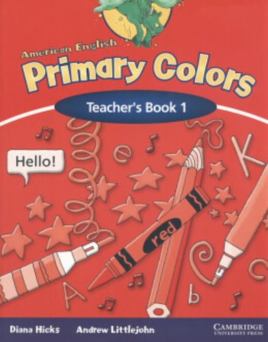 9780521548489: American English Primary Colors 1 Teacher's Book