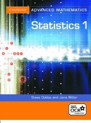 9780521548939: Statistics 1 for OCR (Cambridge Advanced Level Mathematics for OCR)