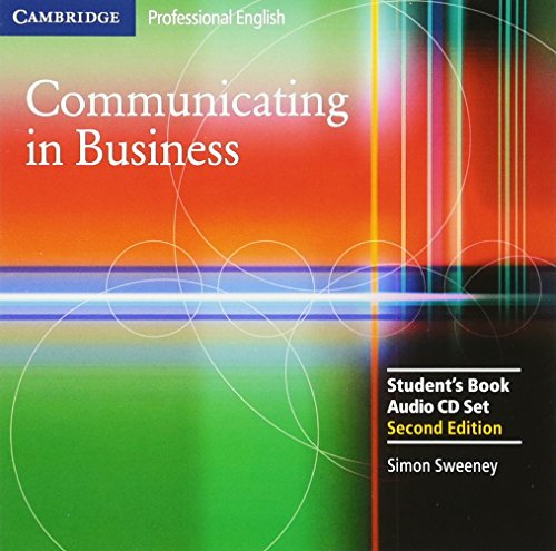 9780521549158: Communicating in Business