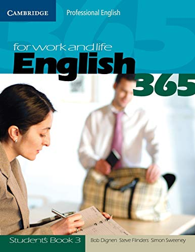 9780521549165: English 365. Student's book. Per le Scuole superiori: English365 3 Student's Book (Cambridge Professional English)