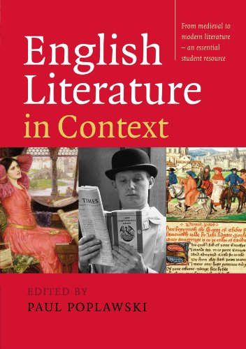 9780521549288: English Literature in Context